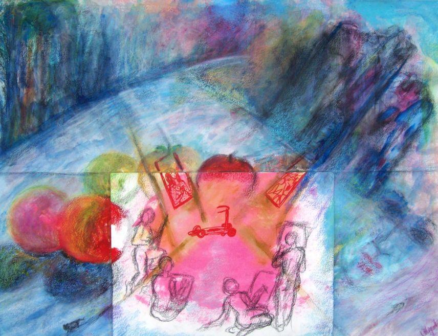 Hommage à l'Atelier - Tout est dans tout / Tribute to the workshop -Everything is in everything par Vinca Migot