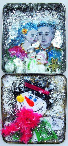 Nounours Teddy Bear 24 - Neige / Snow par Vinca Migot
