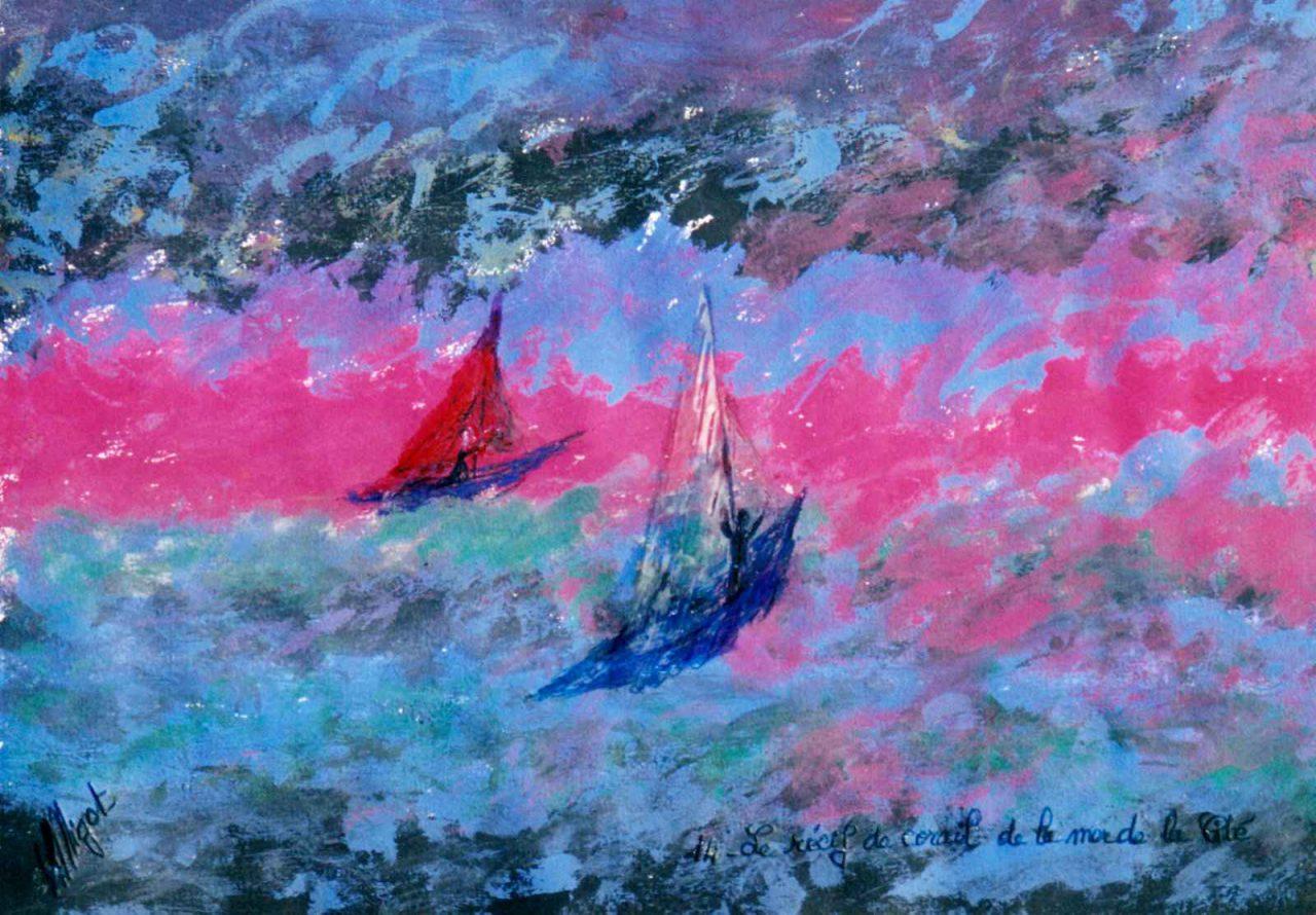 Le Récif de corail de la mer de la Cité par Vinca Migot