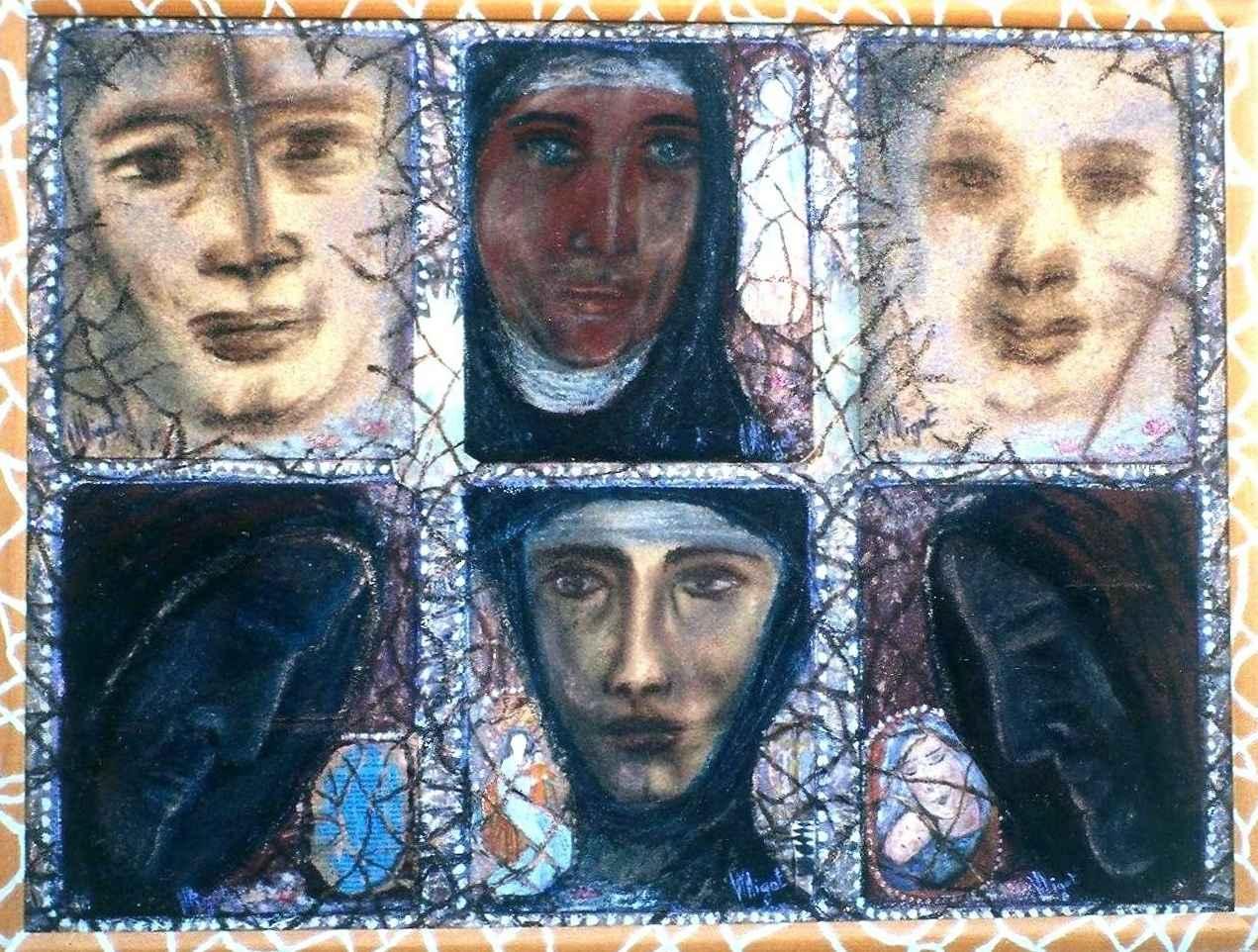 Esprits de l'Abbaye par Vinca Migot