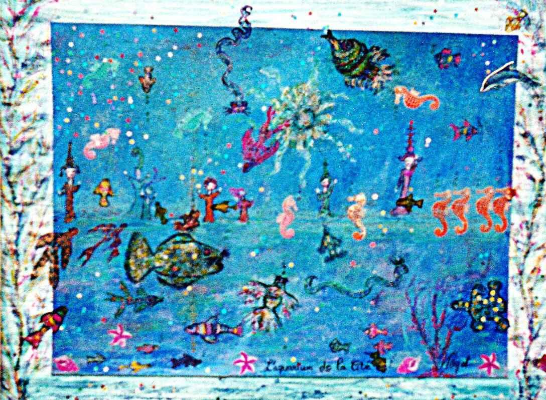 L'Aquarium de la Cité par Vinca Migot