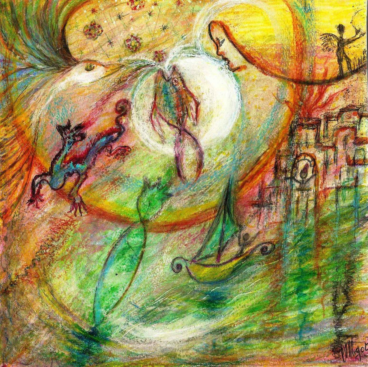 Voyage vers l'Inconscient - Premier Rêve par Vinca Migot