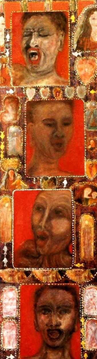 Palanquin porte-fenêtre sur le Gospel par Vinca Migot