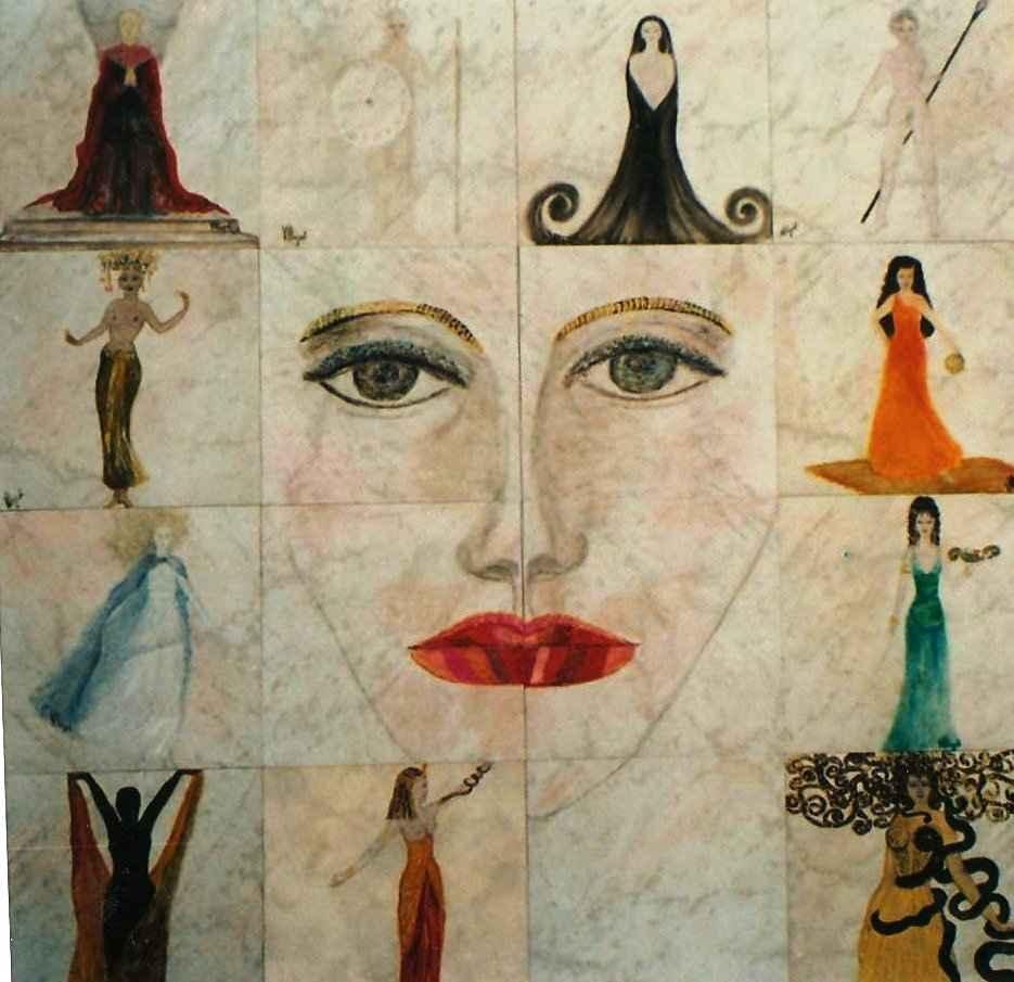 Palanquin des déesses et vestales par Vinca Migot