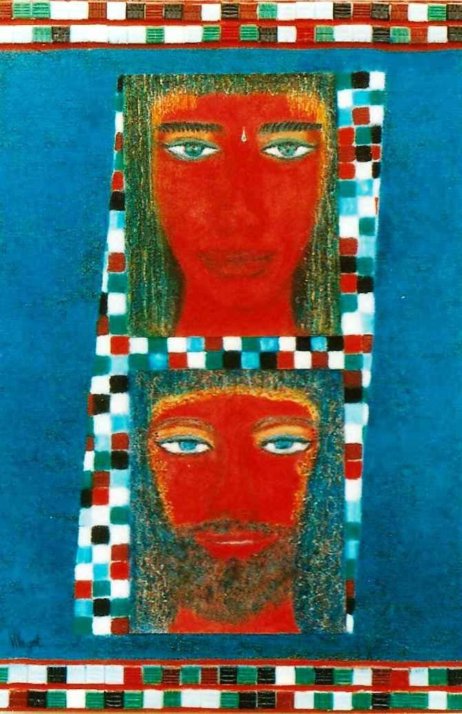 Esprits de légende avec les premiers époux, par Vinca Migot