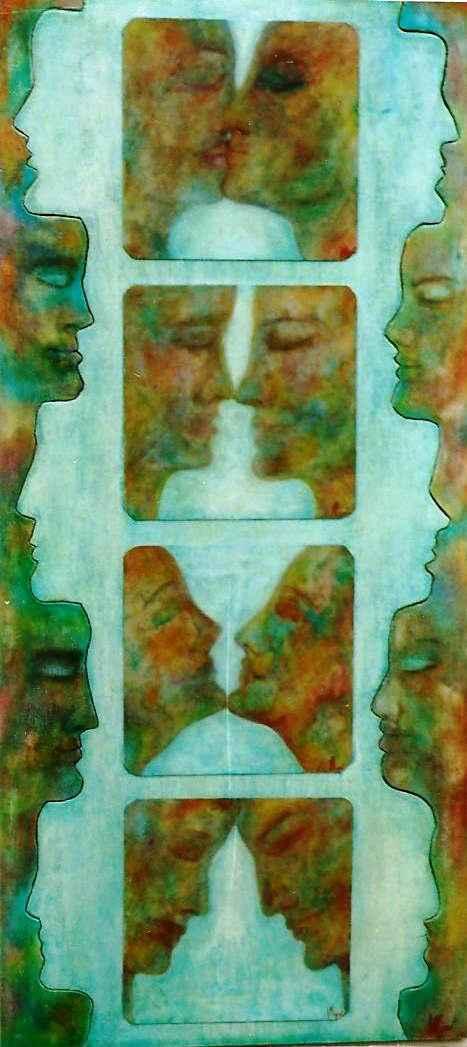Palanquin du baiser arc-en-ciel par Vinca Migot