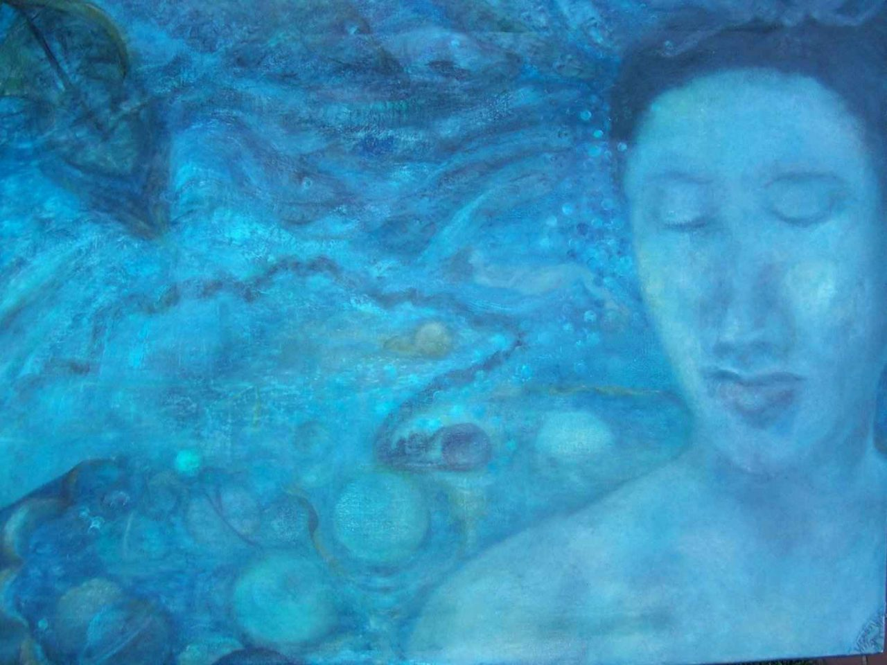 Parfum de Méditation océanique recto par Vinca Migot
