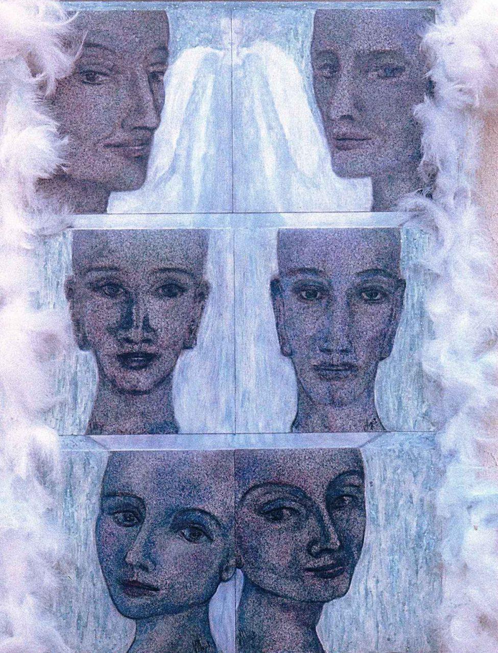 Palanquin des anges par Vinca Migot