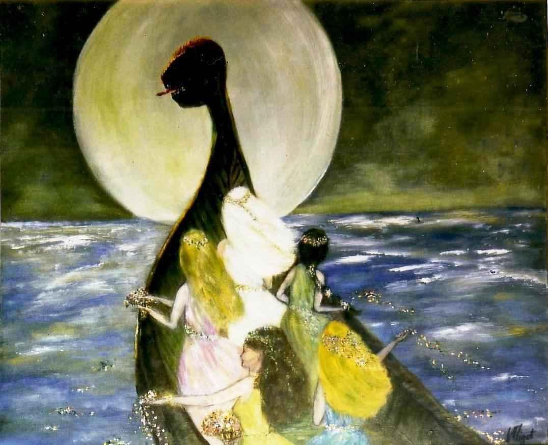 Parfum d'Avalon (cycle arthurien) par Vinca Migot