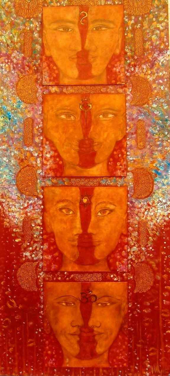Palanquin un plus un égale trois / Noces mystiques par Vinca Migot
