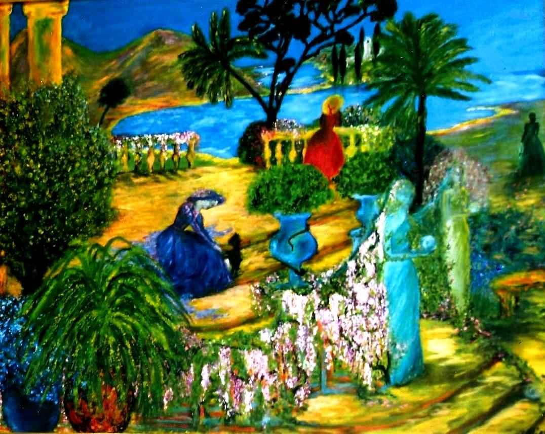 """Parfum """"Rhapsodie in Blue"""" par Vinca Migot"""
