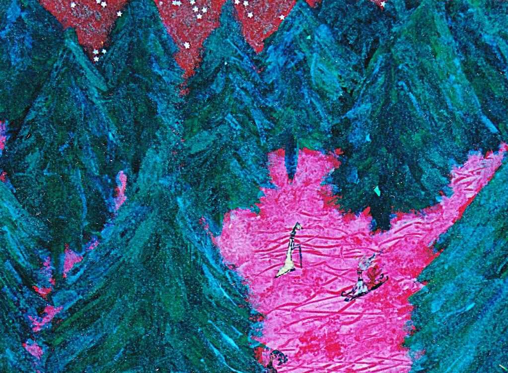 La Forêt de sapins de la Cité par Vinca Migot