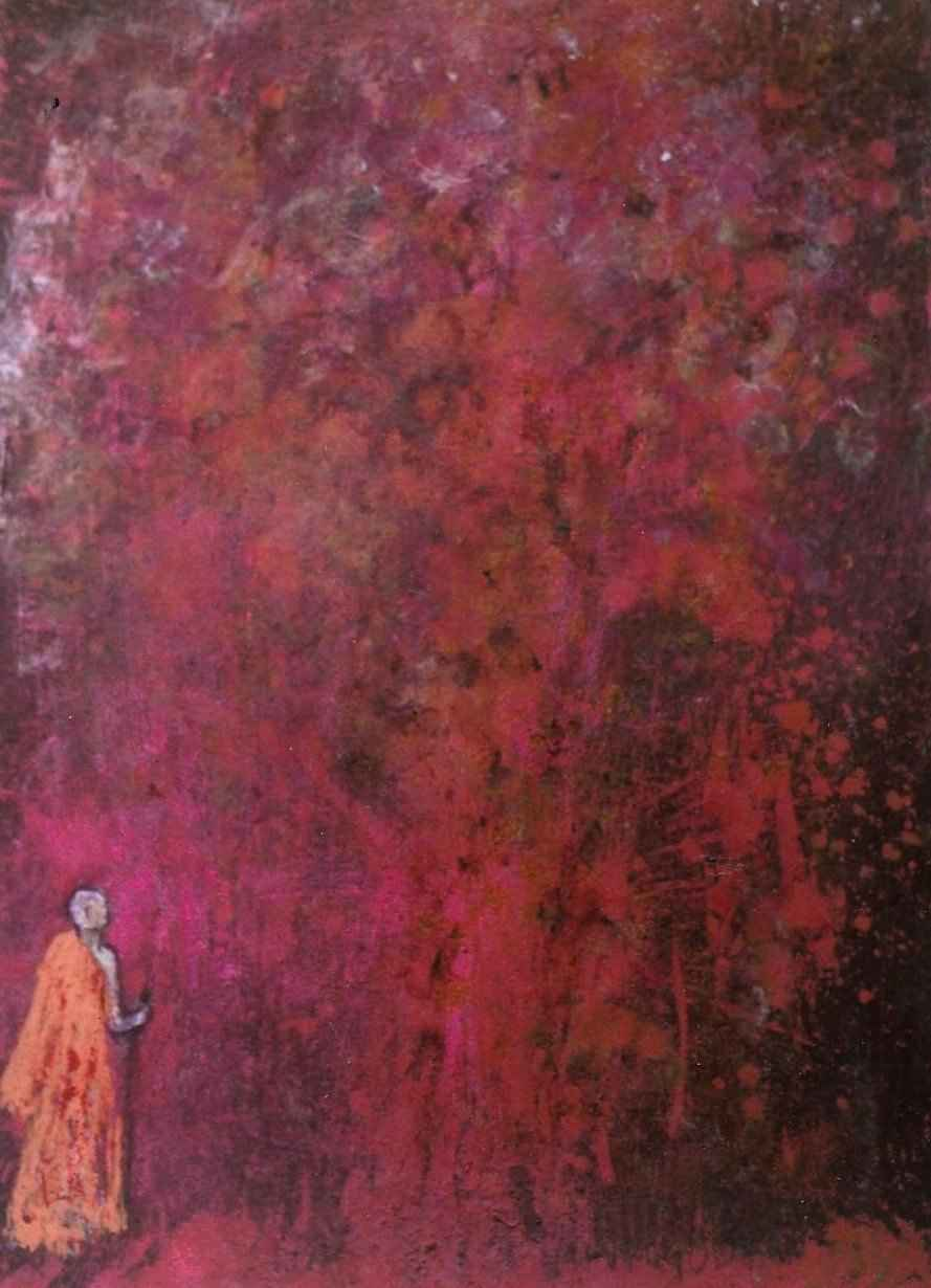 Le Bonze de Preah Vihear par Vinca Migot