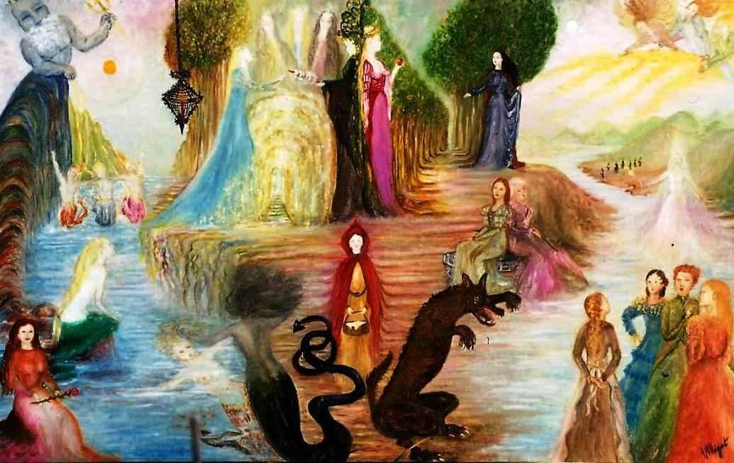 """Parfum """"Hommage aux contes de fées"""" par Vinca Migot"""
