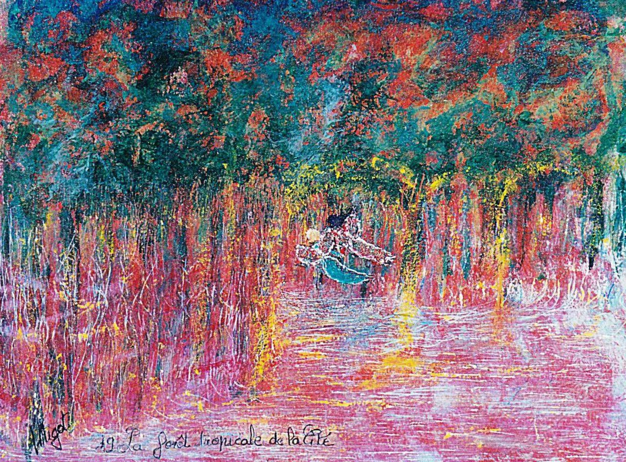 La Forêt tropicale de la Cité par Vinca Migot