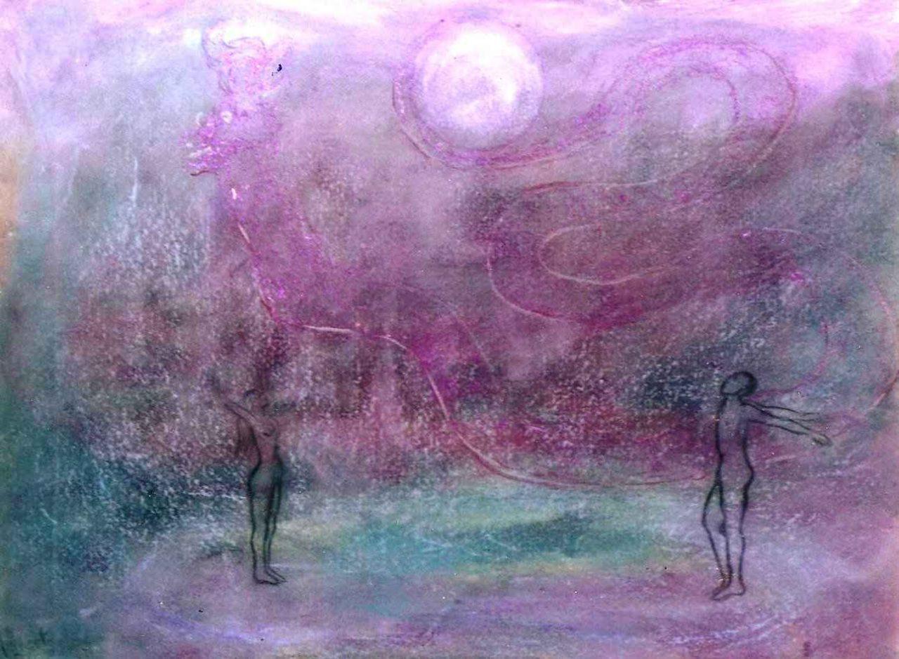 Fête des eaux et de la lune par Vinca Migot