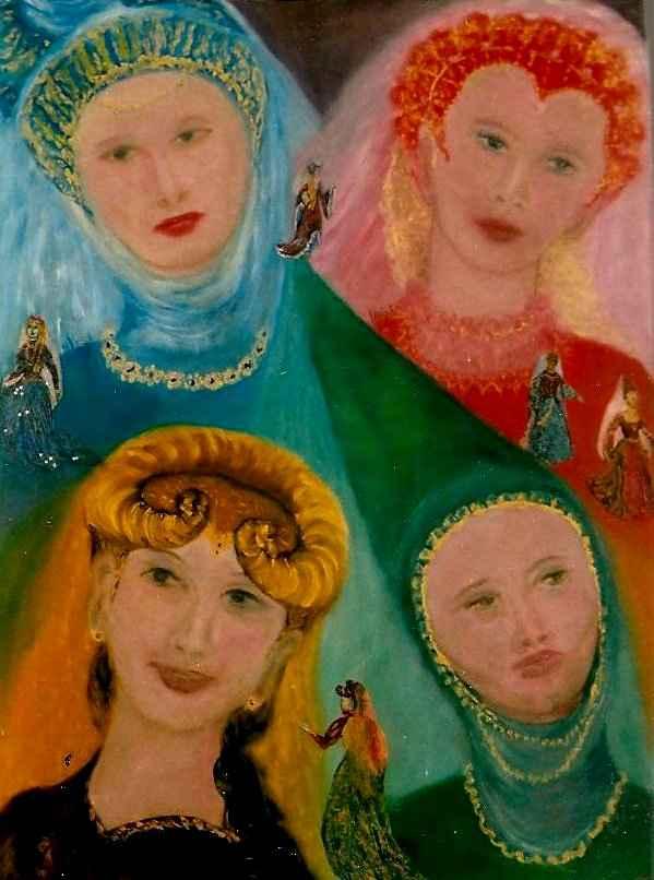 Dames Illustres / Illustrious Ladies par Vinca Migot