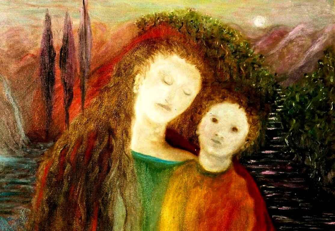 Parfum du Songe du mont des Oliviers par Vinca Migot