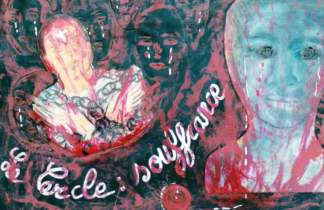 Le Cercle - Souffrance / Pain par Vinca Migot