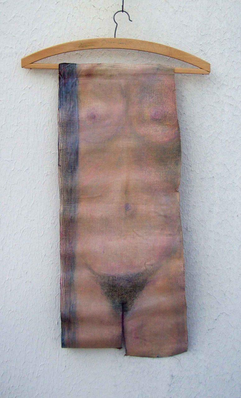 Nu suspendu (Hanging Nude) recto par Vinca Migot