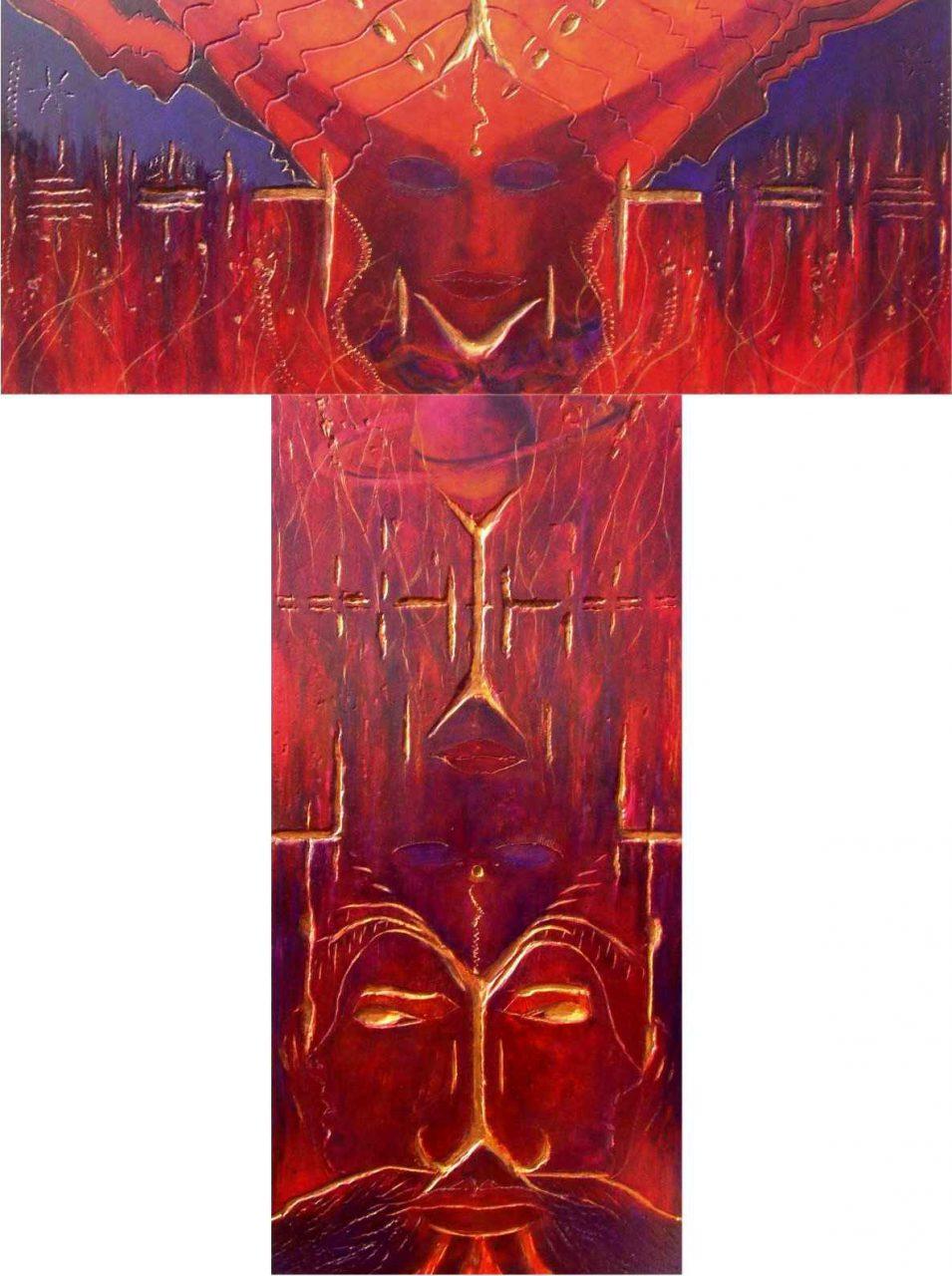 Palanquin un plus un égale trois / Temps fractal et temps saturnien par Vinca Migot