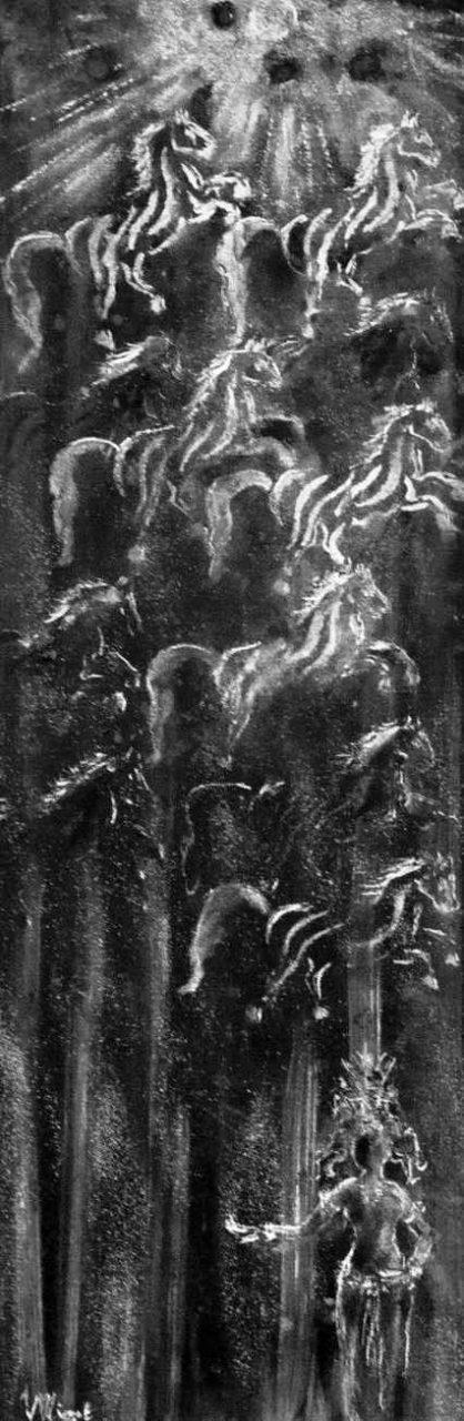 Petit précis d'astrologie khmère - Le Cheval par Vinca Migot