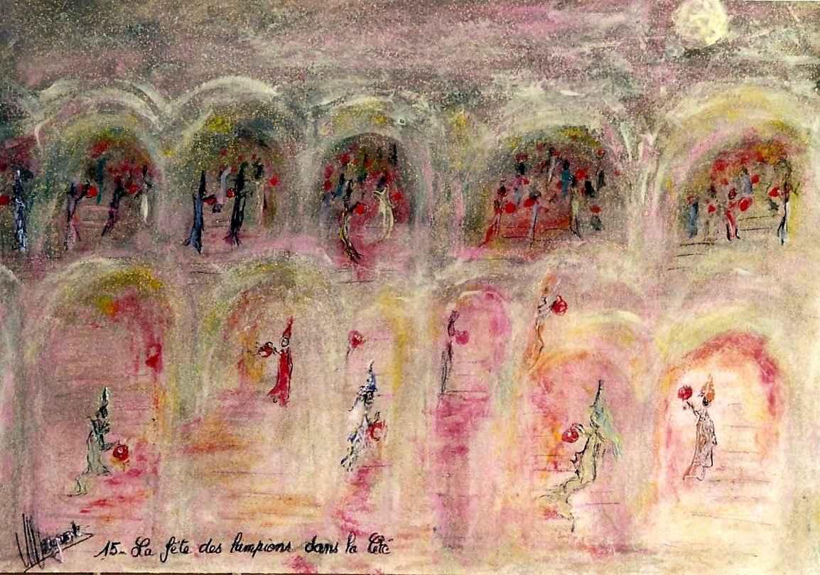 La Fête des lampions de la Cité, par Vinca Migot