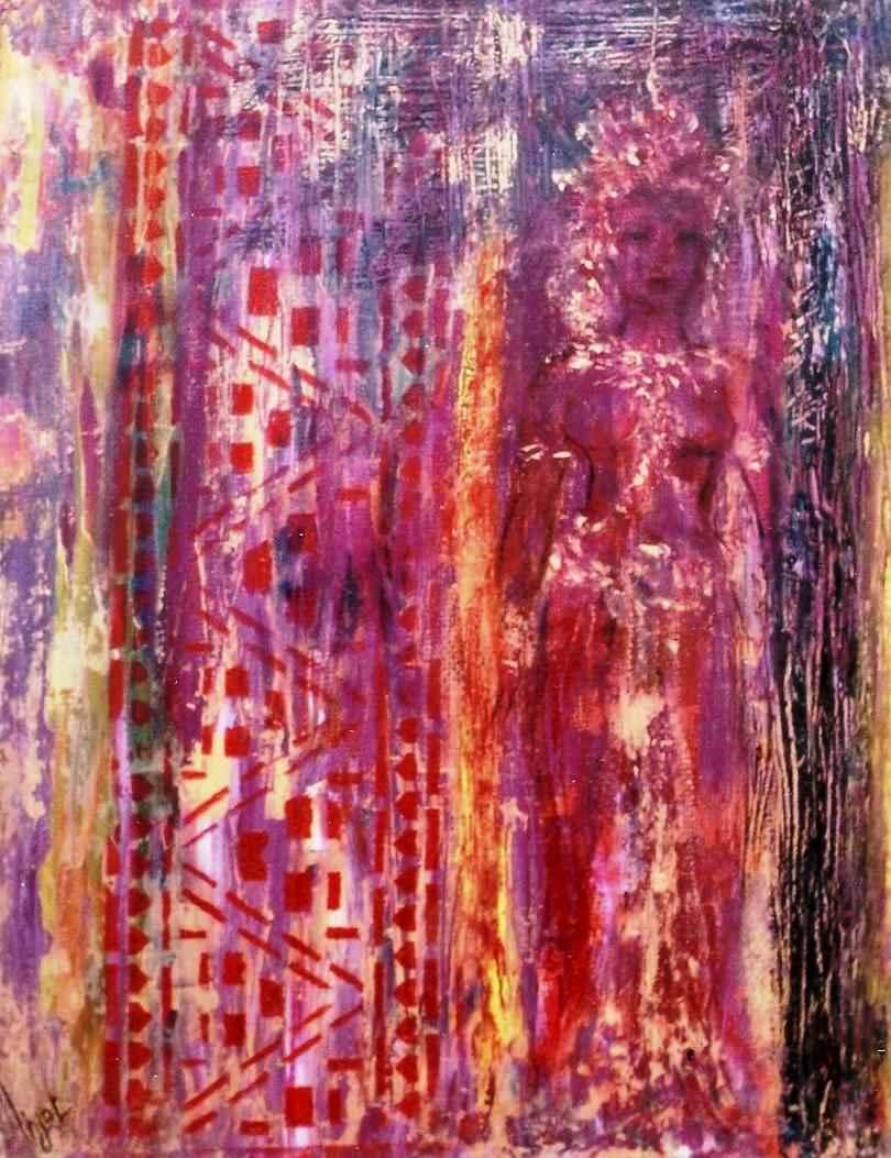 Apsara de feu - Apsara du désir charnel par Vinca Migot