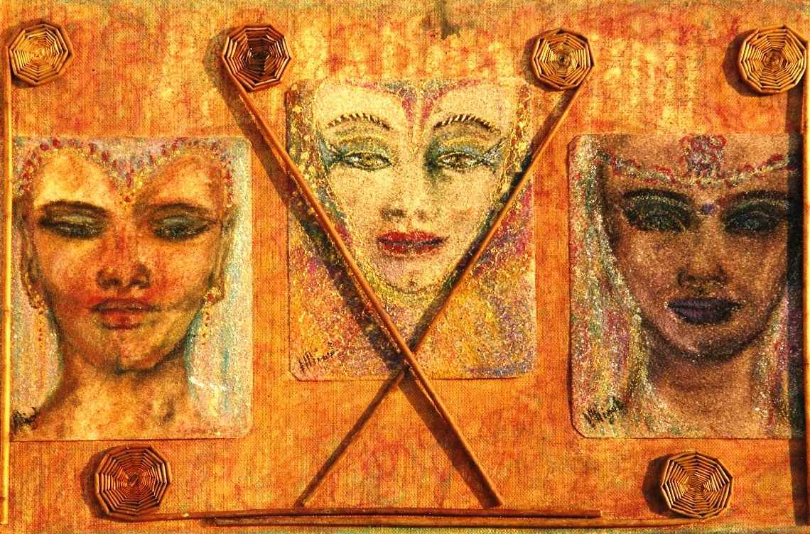 Esprits de légende avec Sémiramis, par Vinca Migot