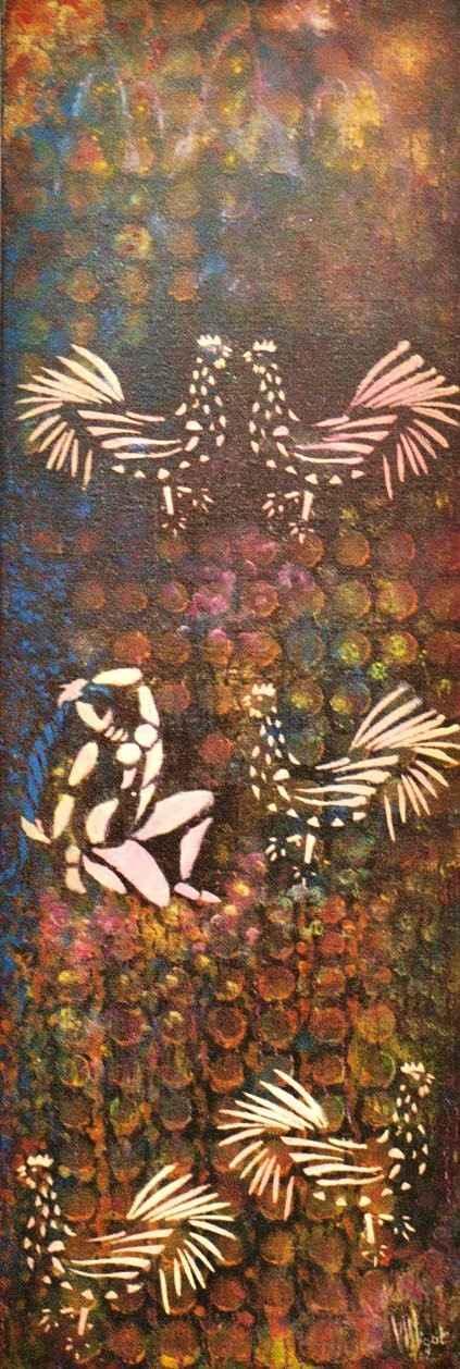 Petit précis d'astrologie khmère - Le Coq par Vinca Migot