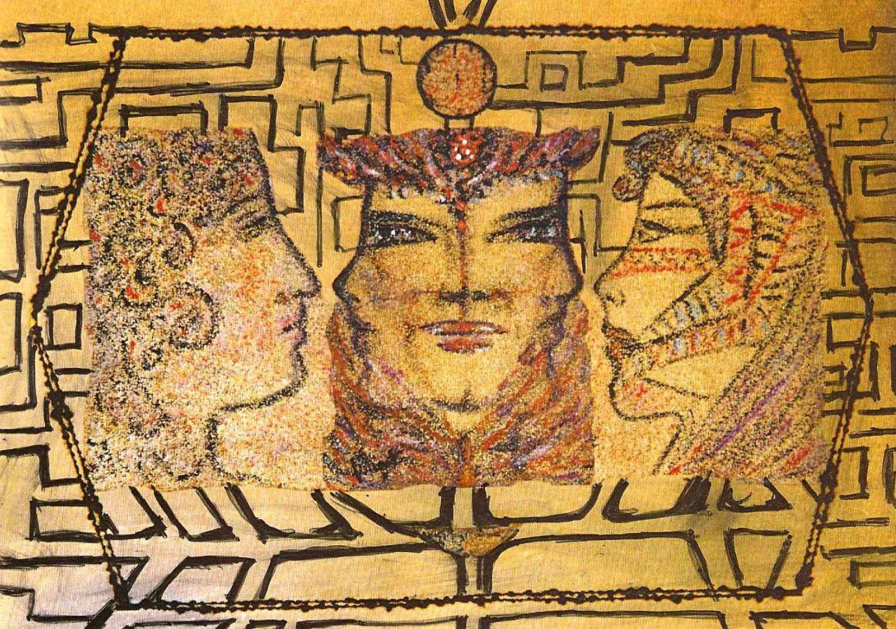 Esprits de légende avec le Minotaure, par Vinca Migot