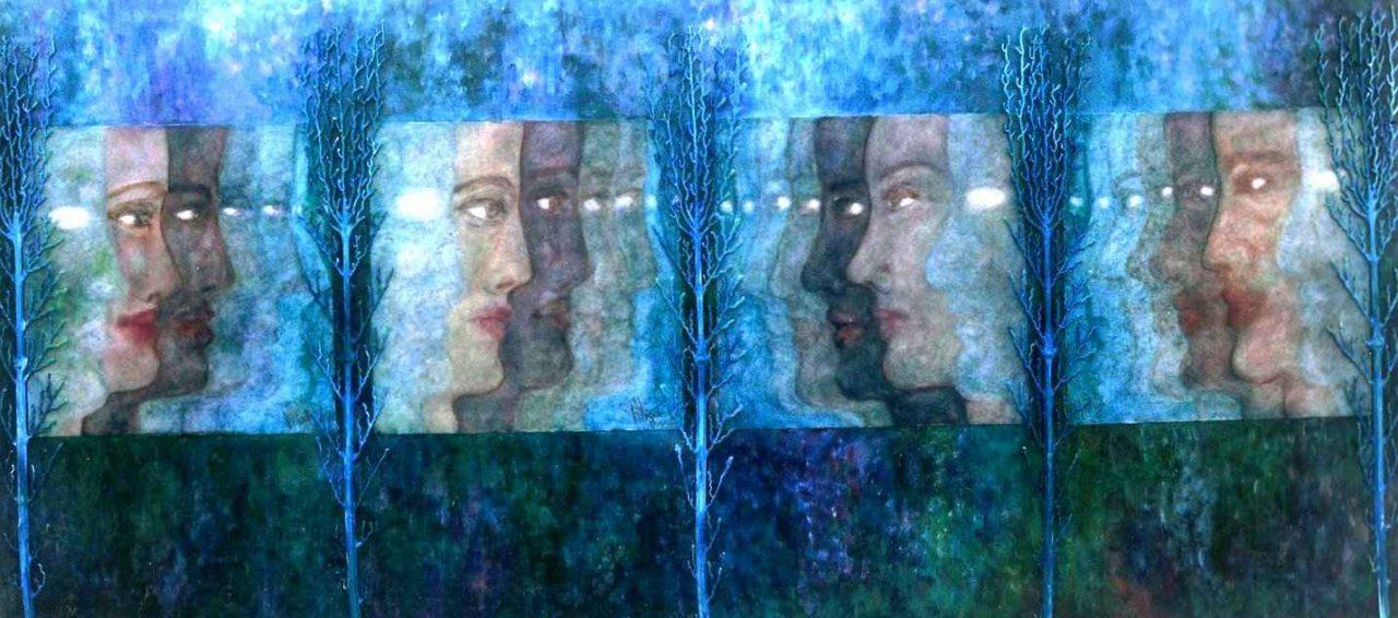 Palanquin des Atlantes (Atlantide) par Vinca Migot