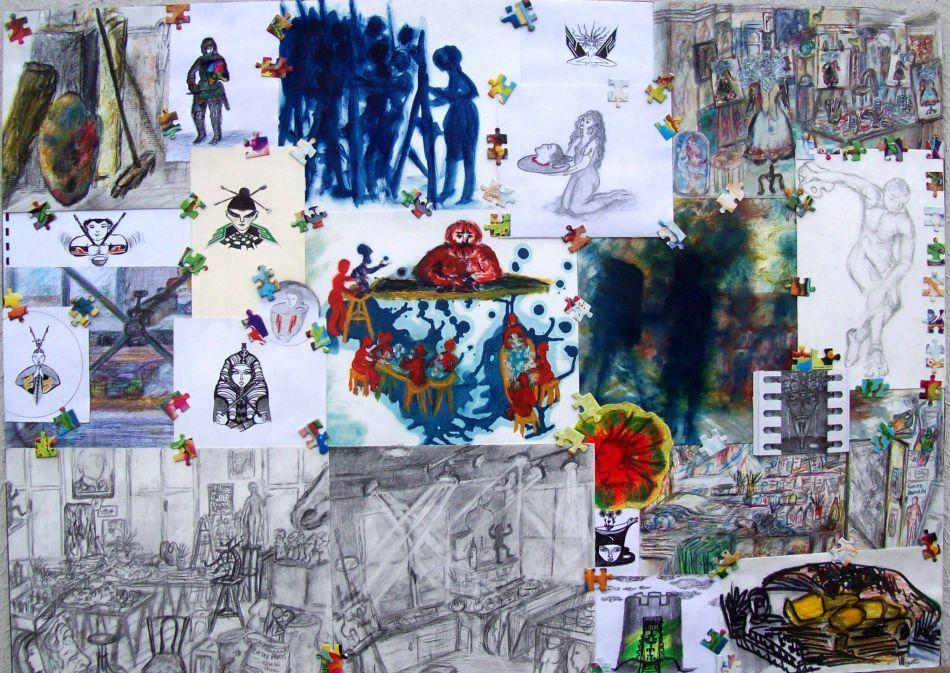 Hommage à l'Atelier - Le Maître / Tribute to the workshop - The Master par Vinca Migot