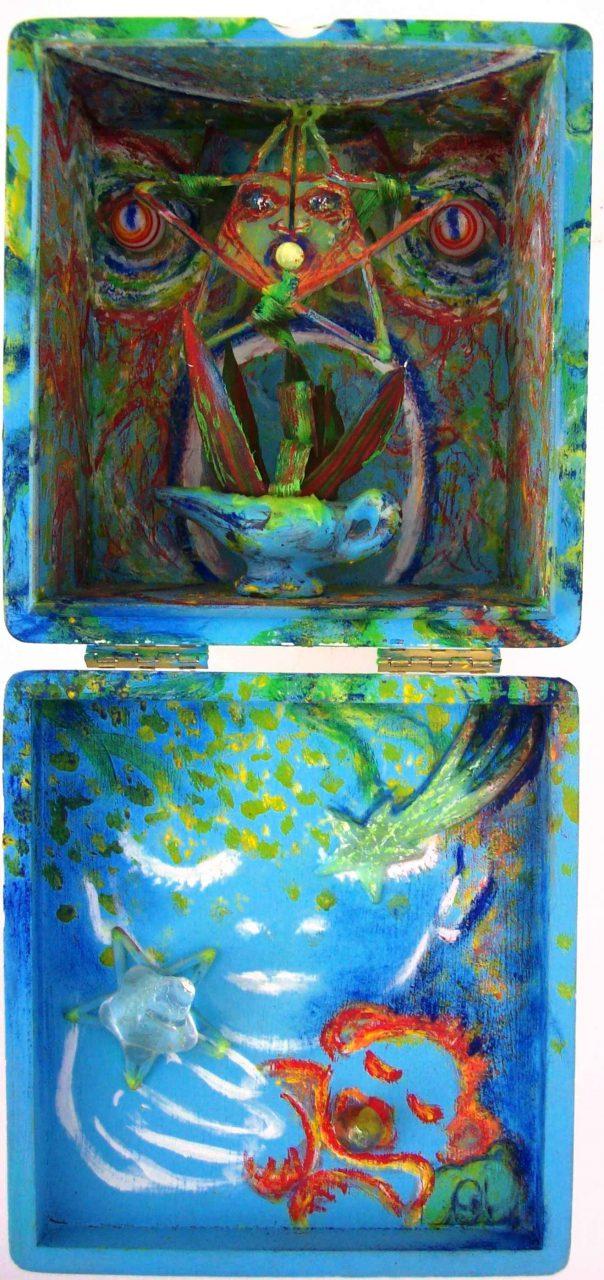 Magic lamp and Genie par Vinca Migot