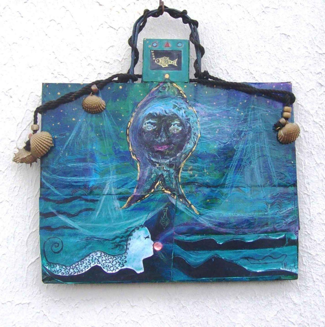 Enfant Poisson Lune / Child Sunfish par Vinca Migot