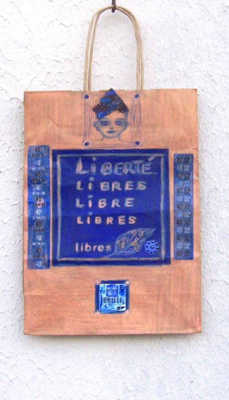 Vivre libre / Live Free par Vinca Migot