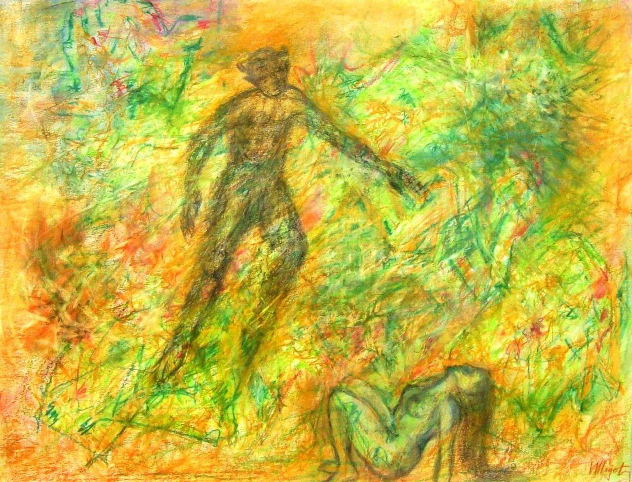 Rêveuse à l'Après-midi d'un Faune / Dreamer of the Afternoon of a Fawn (Debussy)par Vinca Migot