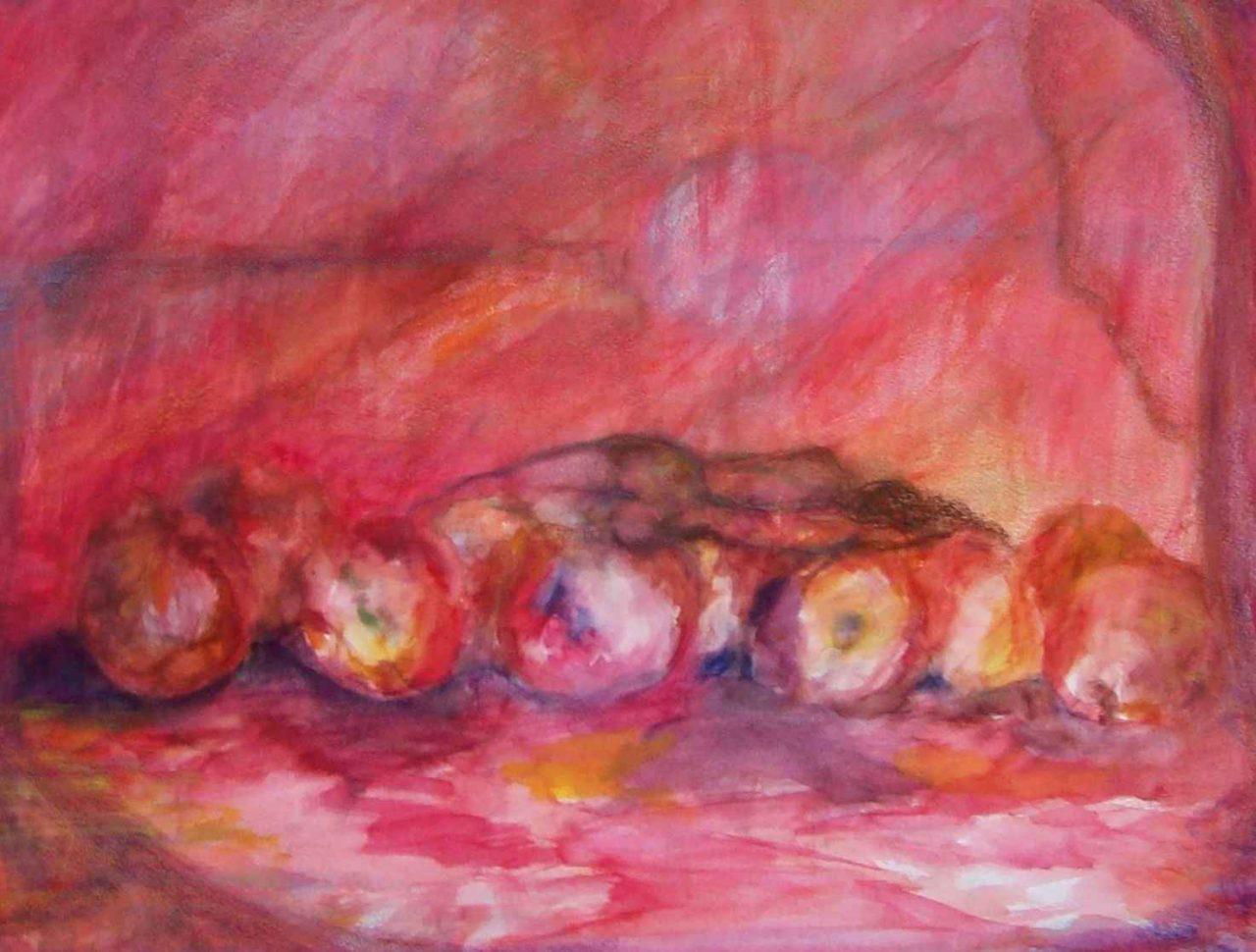 Rêveuse à la tentation d'Eve / Dreamer of Eve's temptation par Vinca Migot