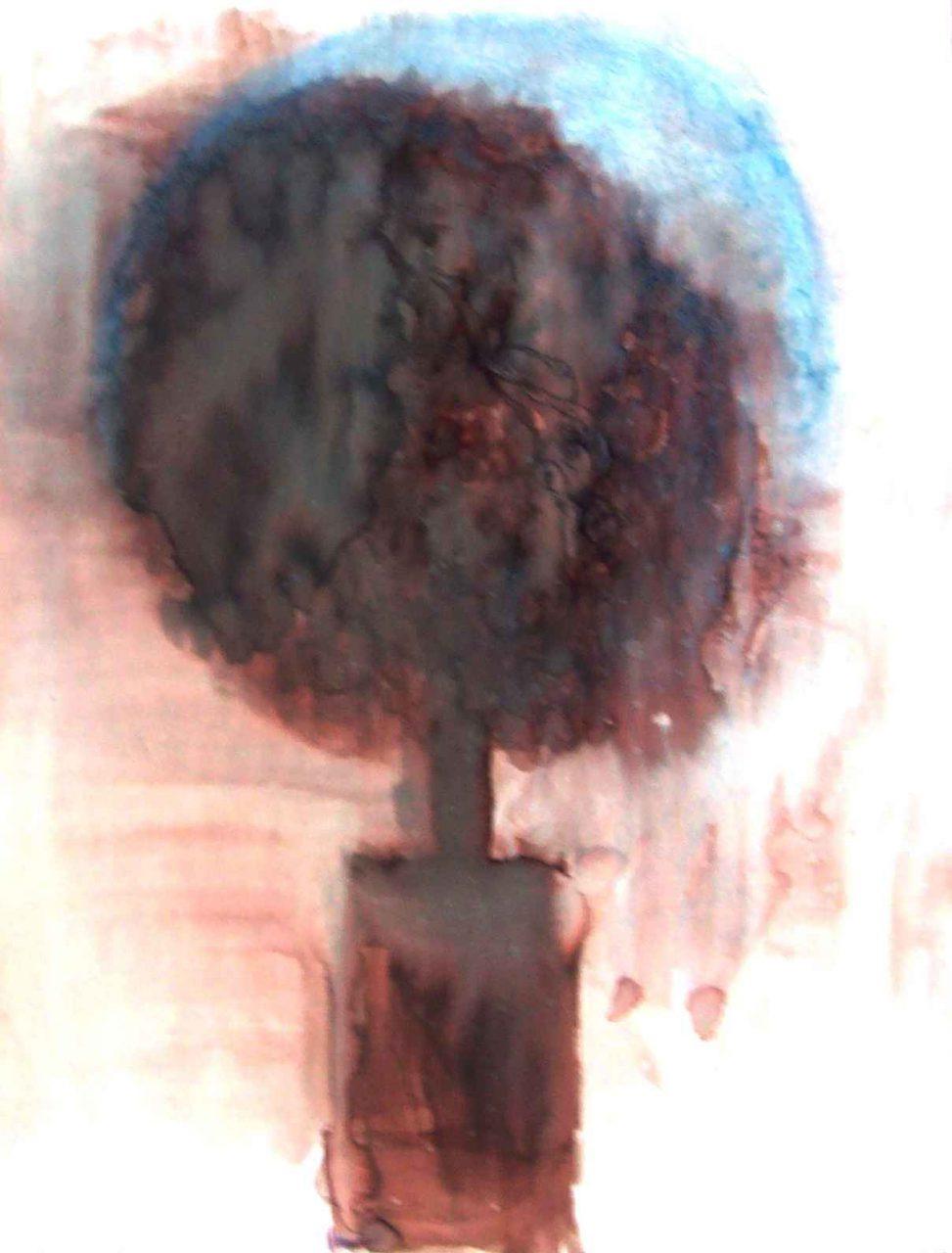 Rêveuse à l'arbre interdit / Dreamer of forbidden tree par Vinca Migot