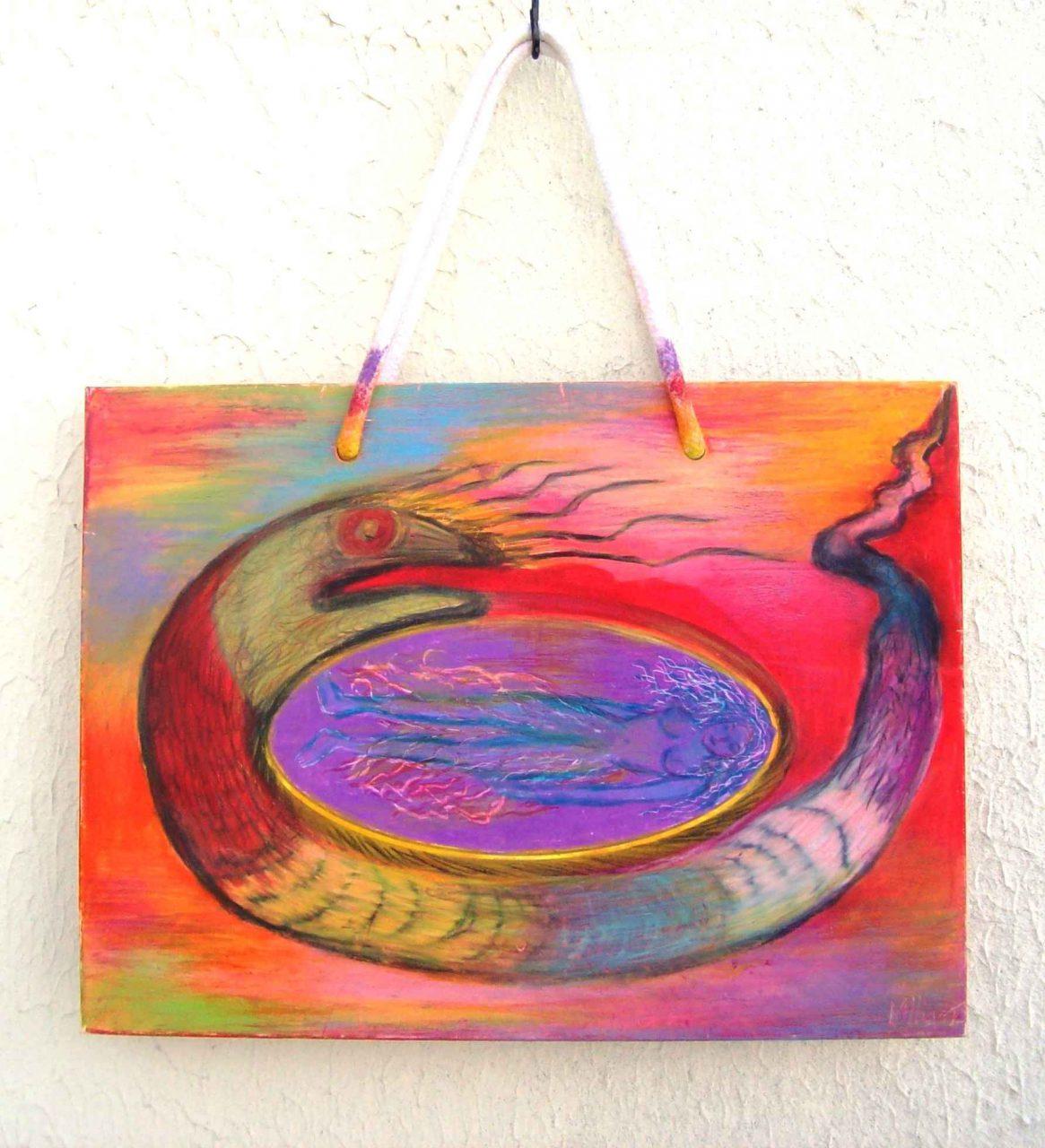 Rêveuse au Serpent / Dreamer to Snake par Vinca Migot