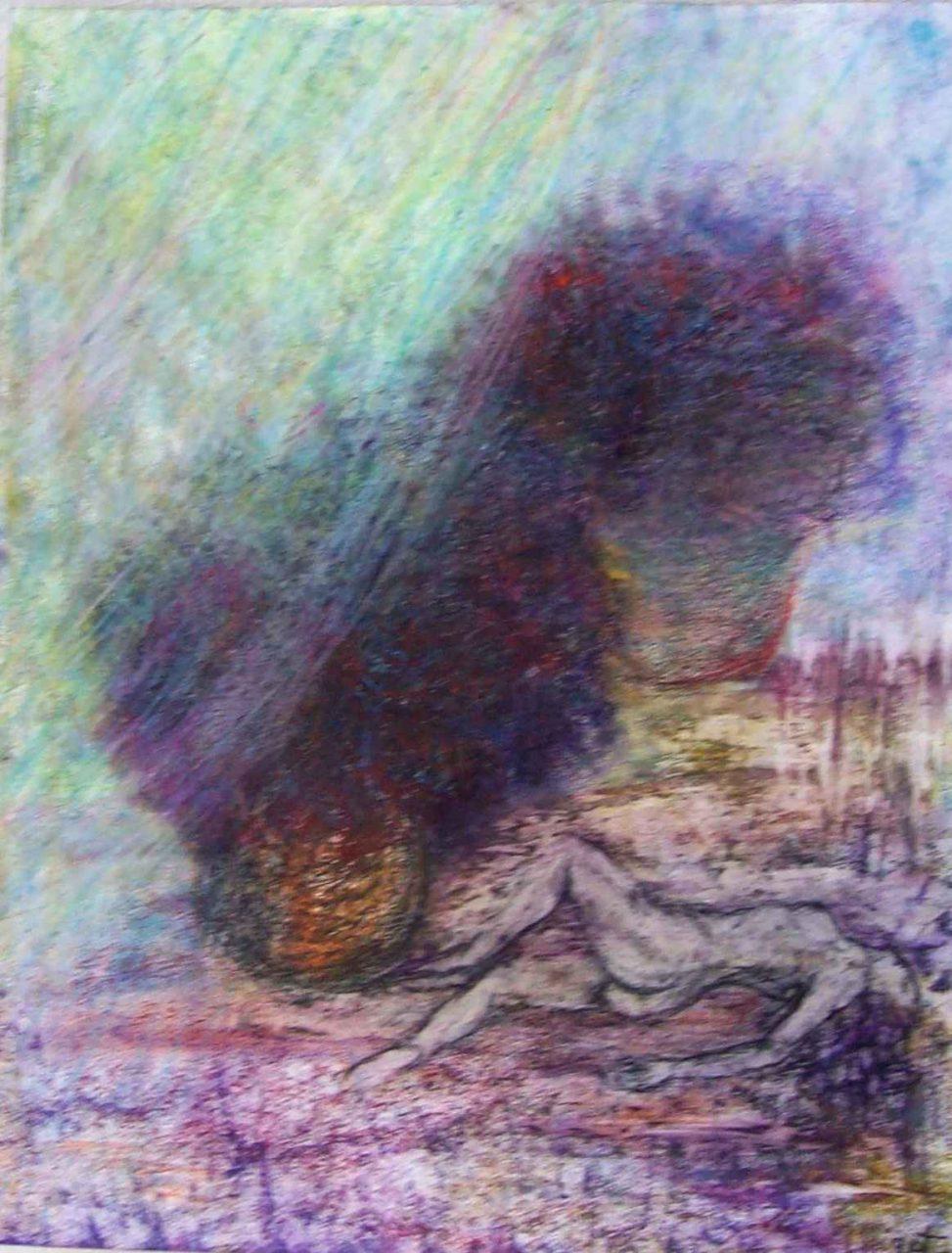 Rêveuse au paradigme d'un monde névrosé / Dreamer of paradigm of a neurotic world par Vinca Migot
