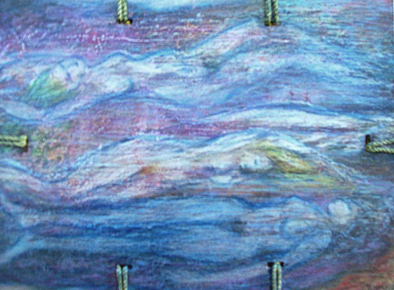 Rêveuse aux rêveuses de l'Océan / Dreamer of Dreamers of the Ocean par Vinca Migot
