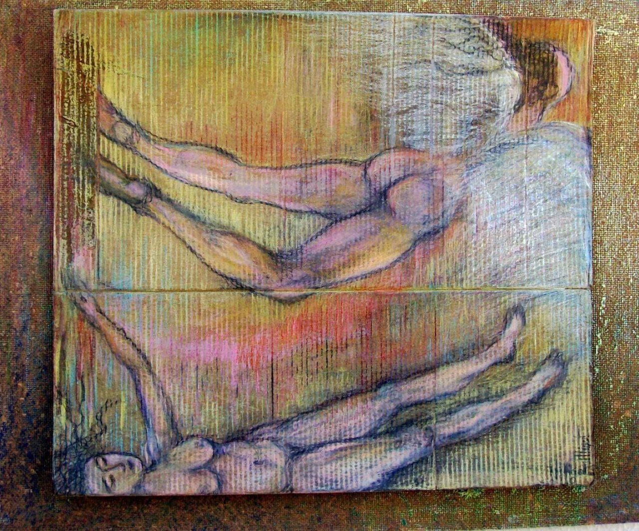 Rêveuse à l'Apesanteur / Dreamer of zero gravity par Vinca Migot