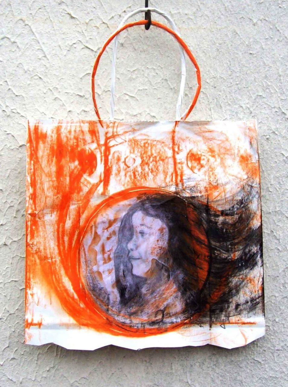 Enfant de la Lune Rousse / Child of the Red Moon par Vinca Migot