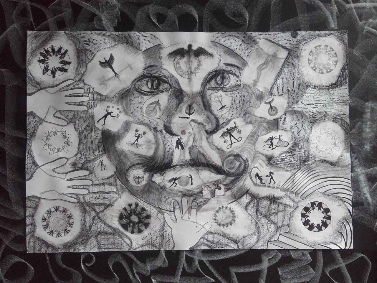 L'Œuvre au noir - Satan spirite par Vinca Migot