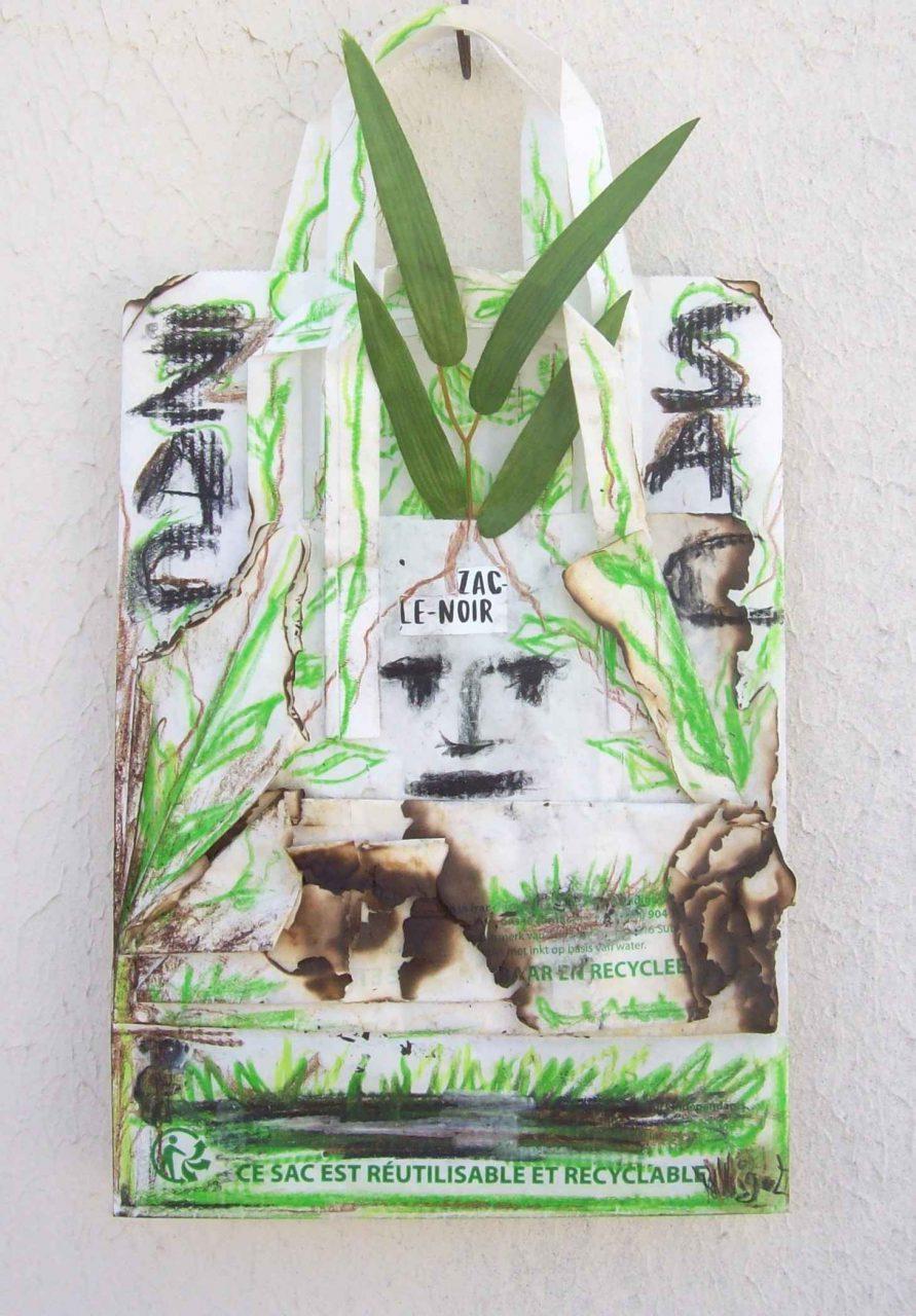 Zac le Noir n°1 : Partout où Zac passe, l'herbe repousse par Vinca Migot