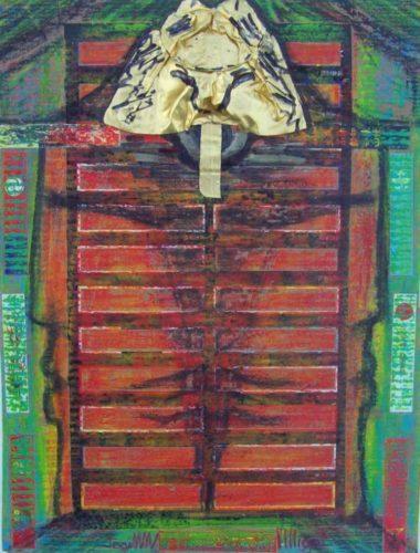 Samouraï de la porte du No / No Door par Vinca Migot