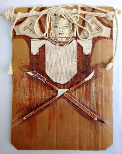 Maître d'armes n°1 Faisceau d'armes / Fencing Master - Bundle of weapons par Vinca Migot