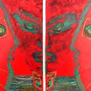 Samouraïs Jeteurs de sorts / Samurais Spell casters par Vinca Migot